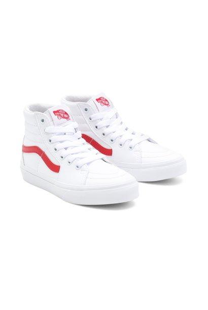 Vans uy sk8-hi white red