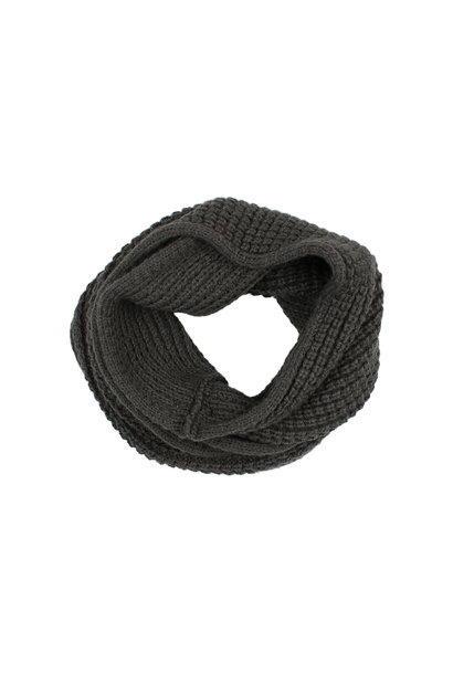 Buho scarf antracite
