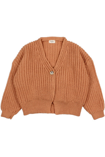 Buho knitted cardigan hazel