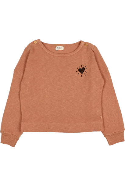 Buho sweater rib flamé hazel