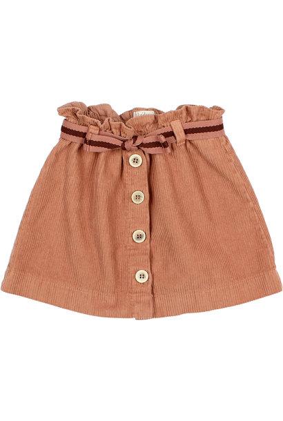 Buho skirt corduroy hazel