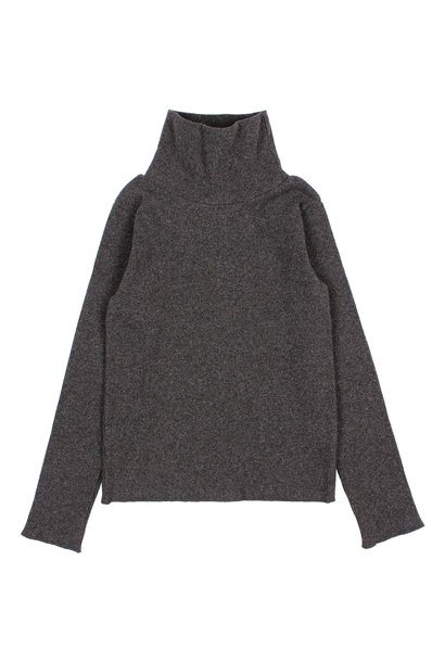 Buho sweater soft rib antracite