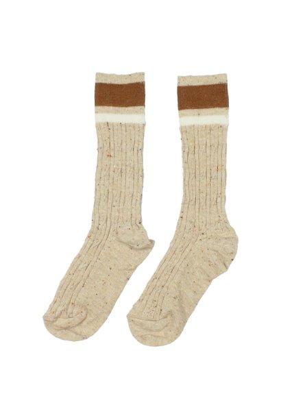 Buho socks rib band natural