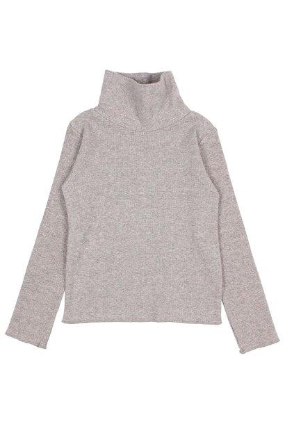 Buho sweater soft rib stone