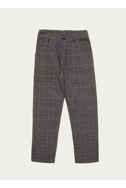 The Campamento checked pants grey