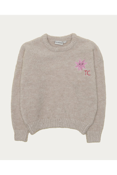 The Campamento sweater star patch