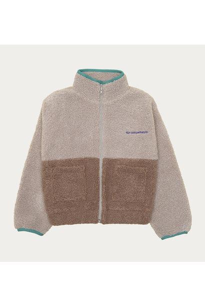 The Campamento teddy jacket