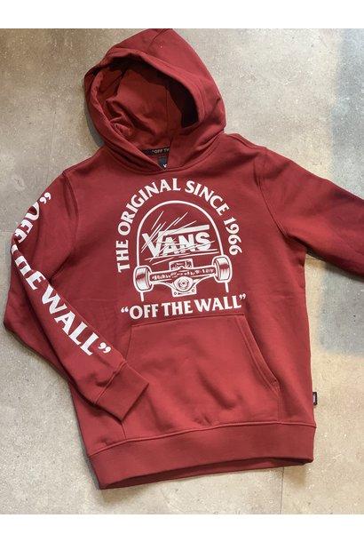 Vans hoodie grind original pomegranate