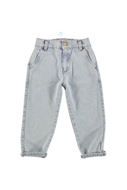 Piupiuchick trousers light blue denim