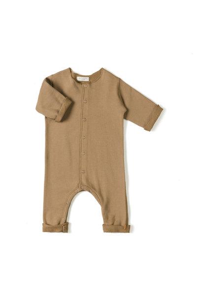 Nixnut born onesie toffee