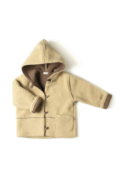 Nixnut winter jacket camel lammy