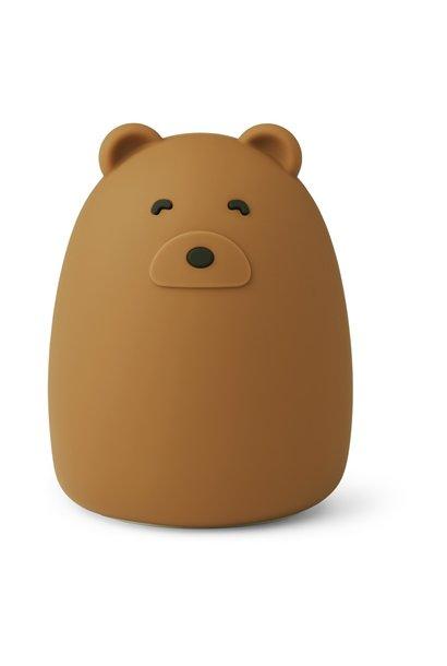 Liewood nachtlampje Mr bear golden caramel