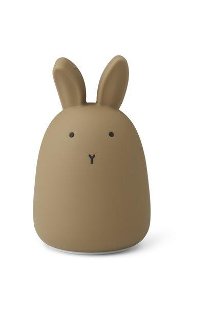 Liewood nachtlampje rabbit oat