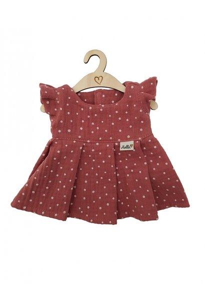 Hollie poppenjurkje spring blush dots