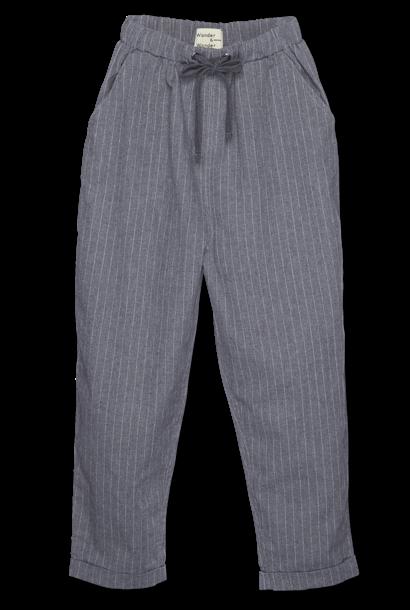 Wander & Wonder drawstring pants grey striped