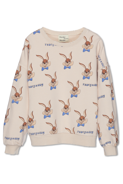 Wander & Wonder sweater bunny ecru