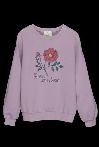 Wander & Wonder sweater rose lilac