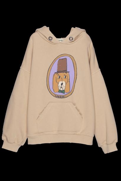 Wander & Wonder hoodie doggy almond