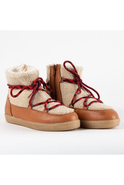 LMDI boots skimo leather brown