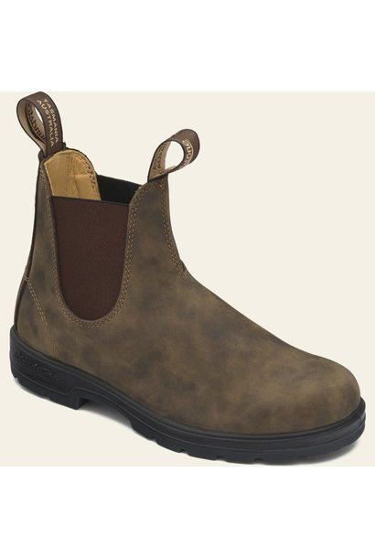 Blundstone boots classic rustic brown
