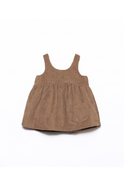 Play Up corduroy dress paper