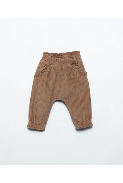 Play Up corduroy trouser paper