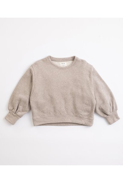Play Up fleece sweater simplicity melange