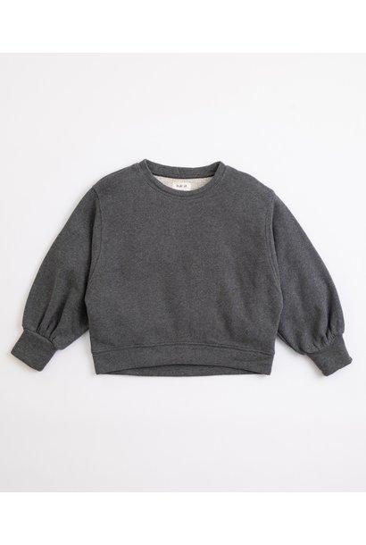 Play Up fleece sweater frame melange