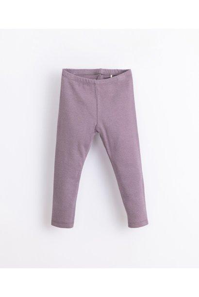 Play Up rib legging lavender