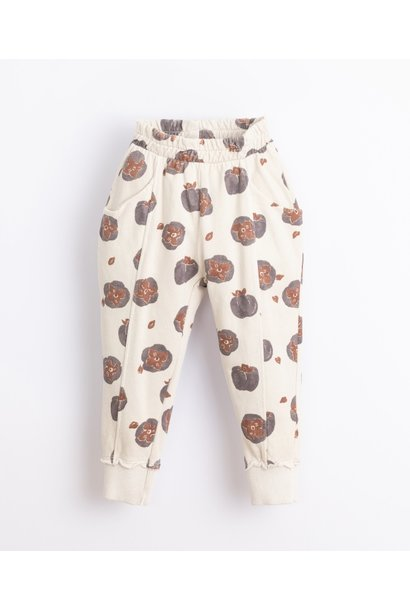 Play Up fleece jogger printed miró tomato flower