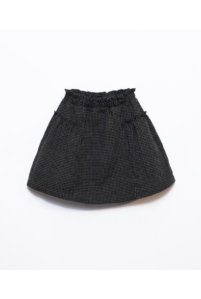 Play Up woven skirt vichy frame