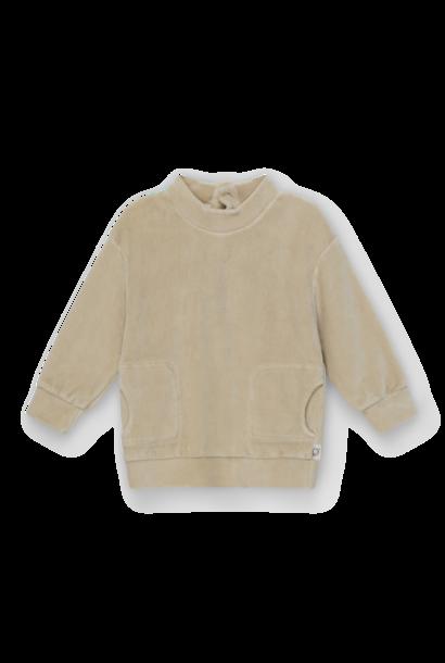 My Little Cozmo sweater axel velour stone