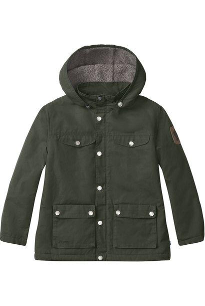 Fjållråven kids greenland winter jacket deep forest