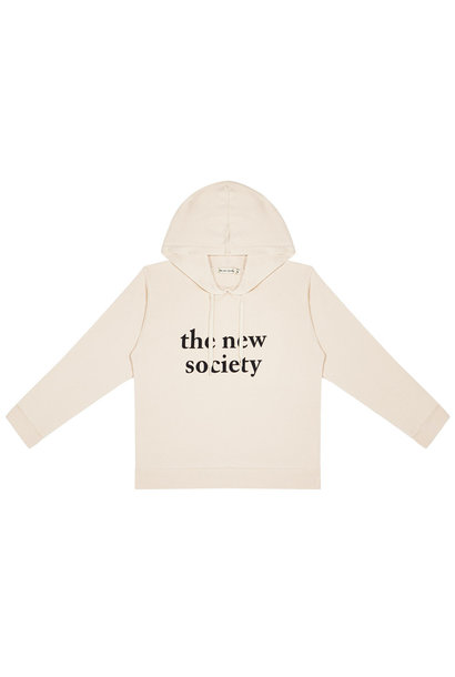 The New Society fleece sweater marcel natural