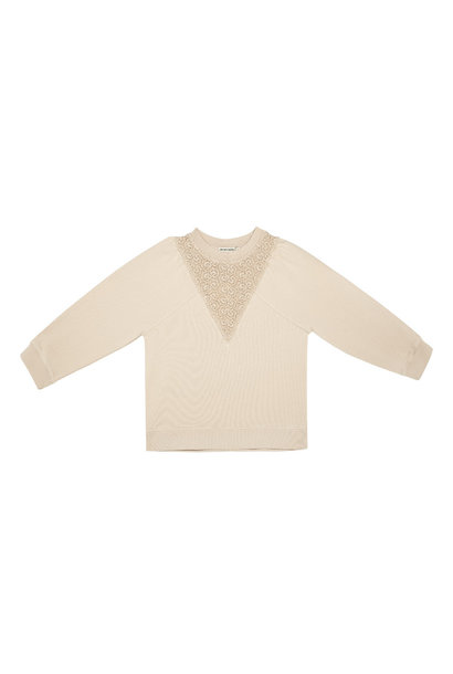 The New Society terry sweater romy natural