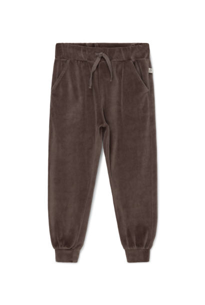 My Little Cozmo jogger dylan velour taupe