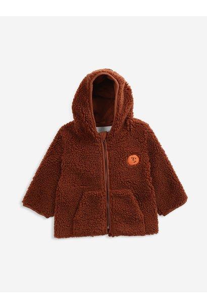 Bobo Choses hooded jacket tandoori spice