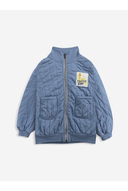 Bobo Choses zipped sweater kids forever blue
