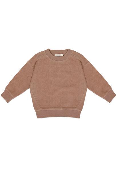 Phil & Phae kids teddy sweater creamy mocha