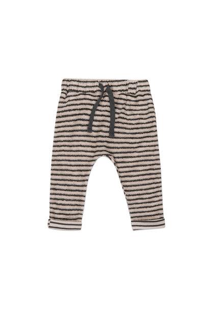 Phil & Phae baby pants loopy stripes graphite