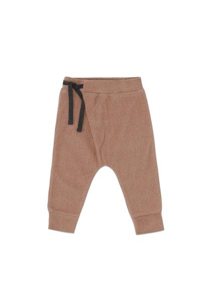 Phil & Phae teddy baby harem pants creamy mocha