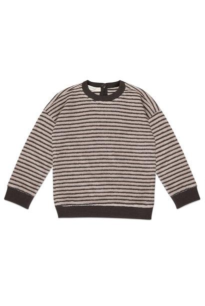 Phil & Phae sweater loopy stripes graphite