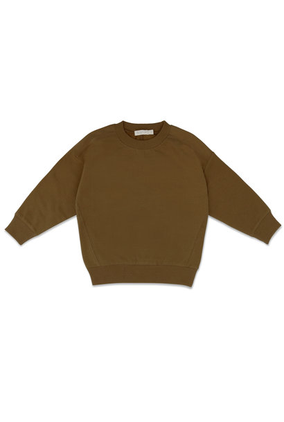 Phil & Phae oversized sweater bronze olive