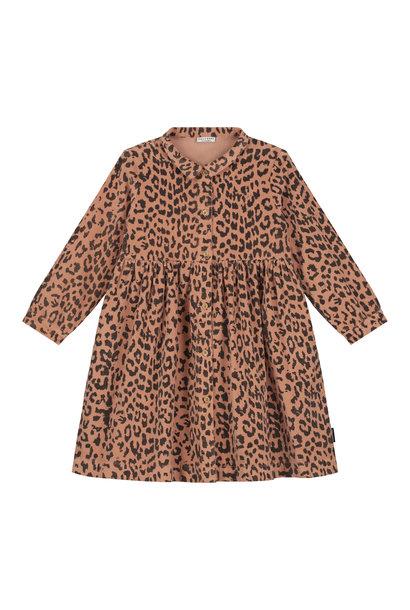 Daily Brat dress brooke leopard hazel