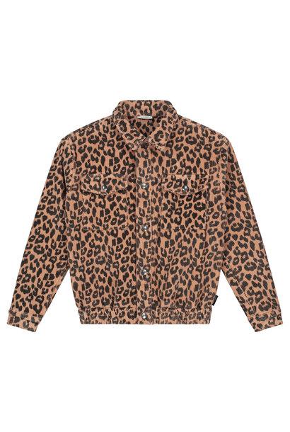 Daily Brat jacket arden leopard hazel