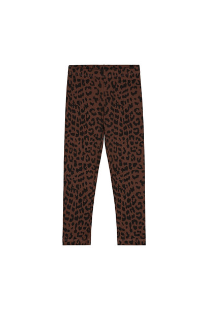 Daily Brat pants leopard hickory brown