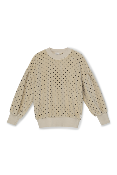 My Little Cozmo sweater romina velour stone