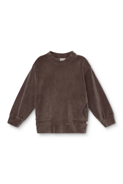 My Little Cozmo sweater axel velour taupe