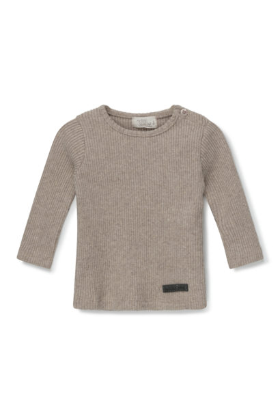 My Little Cozmo rib sweater jamie beige
