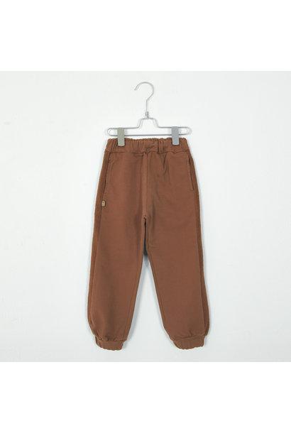 Lötie kids jogging pants solid cinnamon